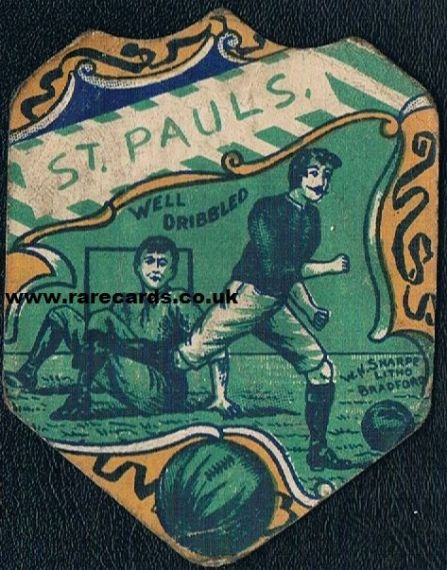 1890's / 1900 Old St. Paul's Jersey Sharpe's